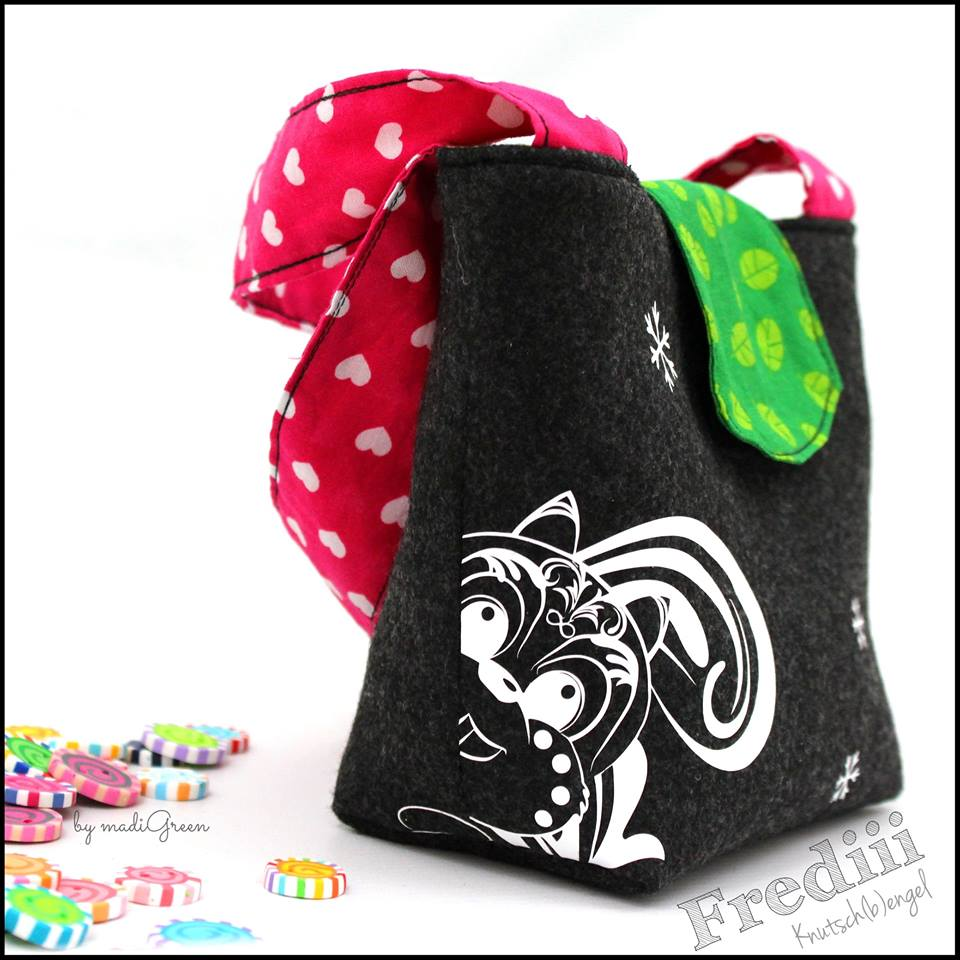 Freebook Kindertasche Madi Green
