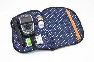 Vereinfachte Variante der Diabetestasche