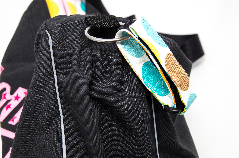 Kinderwagentasche - alternative Befestigungsmöglichkeit