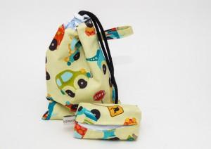 Geschenkbeutel mit Taschentüchertasche