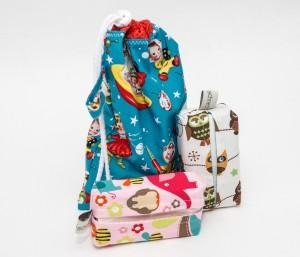 Geschenkebeutel und Taschentüchertasche